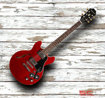 Epiphone ES339 PRO Semi Hollow Archtop Electric Guitar Cherry Red ET33CHNH1