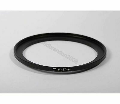 67mm to 77mm Step Up Adapter Ring Holder Converter Camera Filter Lens 67 77 mm