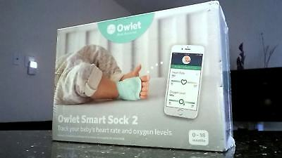 Owlet Rest Assured Smart Sock 2 0-18 months Baby's Heart Rate and Oxygen Levels