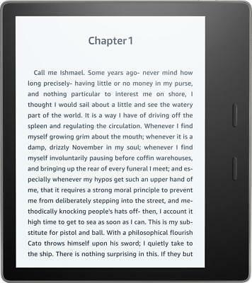 "Amazon - Kindle Oasis E-reader - 7"" High-Resolution Display (300 ppi), Waterp..."