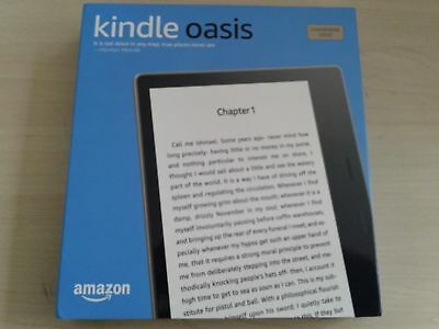 "New Kindle Oasis E-reader Champagne Gold 32GB/7""/Waterproof/Audible [Latest Gen]"