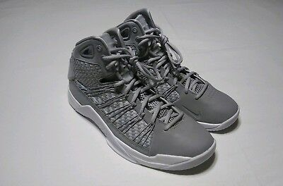 10f2ee9b6468 NEW NIKE HYPERDUNK Lux Basketball Shoes Mens Size 14 Grey White ...