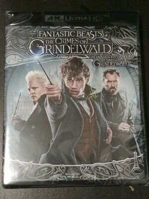FANTASTIC BEASTS and the CRIMES OF GRINDELWALD 4K+ Slip cover