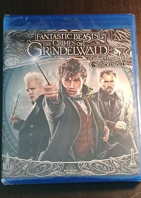 Fantastic Beasts And The Crimes Of Grindelwald Blu-ray/DVD/Digital Brand New