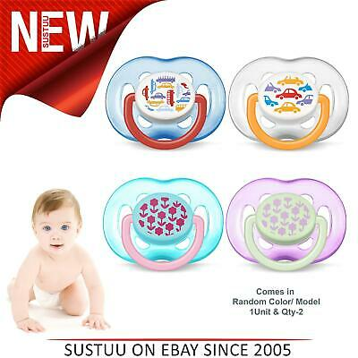Avent Dynamic Orthodontic Pacifier Dummy Fashion Silicone Baby Soother 6-18m