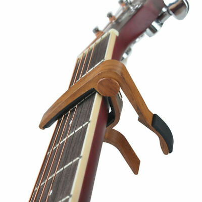 1x Guitar Capo Quick Change Acoustic Guitar Accessories Trigger Key Clamp Useful
