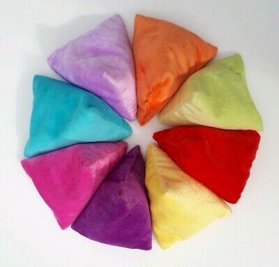 Kids Bean bags, throwing catching, set of 8, small indoor sports toys, juggling.