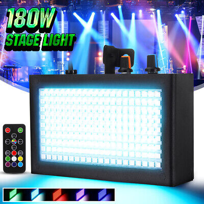 AU 180 LED Strobe Flash Stage Effect Light Party Disco DJ Sound Lighting Lamp