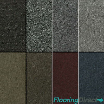 Cheap Loop Pile Carpet Felt Backing Hard Wearing Bedroom  Lounge Stairs Flecked