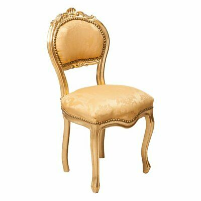 Louis XVI French style solid beech wood chair ORO/ORO