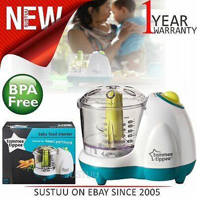 Tommee Tippee Explora Small & Handy Baby Food Blender│Safe & Easy to Clean│New