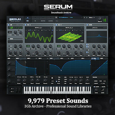 THE BEST Serum Soundbanks - HUGE 3Gb Archive! NEW Professional Studio Libraries