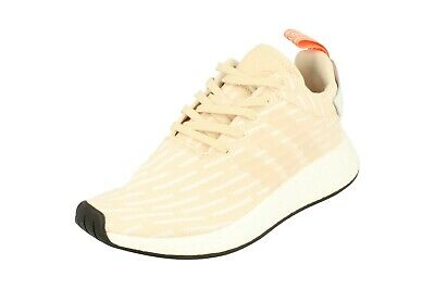 06f8b3f38f469 WOMEN ADIDAS BA7260 NMD R2 Running shoes beige white sneakers ...