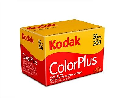 Kodak Color Plus 200 - 35mm 36exp - 135-36 - NEW!