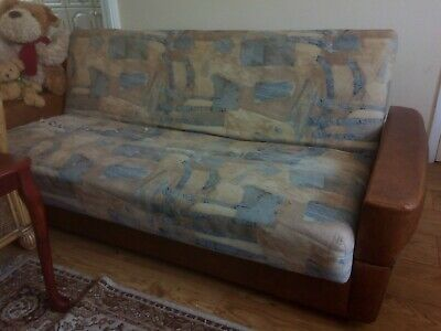 A Vintage, German made Daybed, Sofa Bed