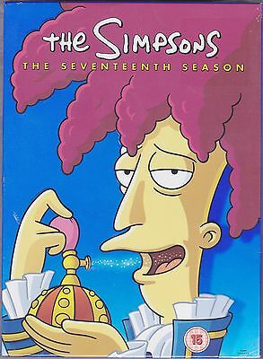 The Simpsons - season 17 Complete (DVD, 4 Disc Set) A Great Comedy TV Series