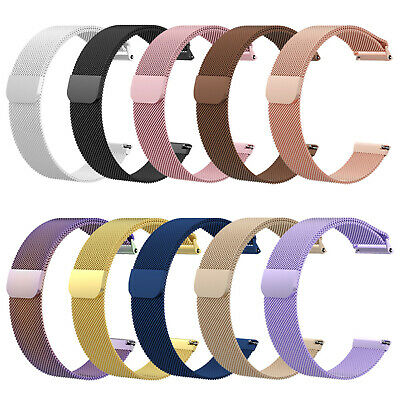 For Fitbit Versa Replacement Metal Milanese Loop Smart Watch Strap Wristband NEW