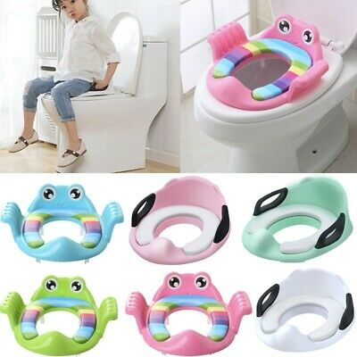 Baby Children Kids Toilet Potty Adjustable Step Stool Training Seat Chair Sale A