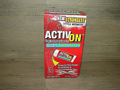 ActivOn arthritis topical analgesic pain relief for joints & muscle QTY 1 TUBE >