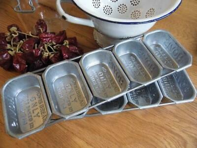 Vintage Chic Bakers Advertising Hovis Bread Tin 5 Mini Hovis Loaf Tin Bake Store