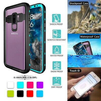Full Waterproof Dirtproof Armor Protective Case Cover For Samsung Galaxy S9 Plus