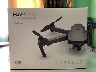 DJI Mavic Pro PLATINUM - Fly More COMBO Drone - 4K Stabilized Camera WITH EXTRAS