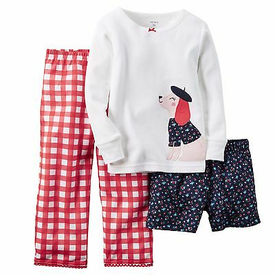 Baby & Toddler Clothing 2t/ Nwt Lovely Toddler Girls Carters Pointelle Dog Pajamas/ Size Clothing, Shoes & Accessories