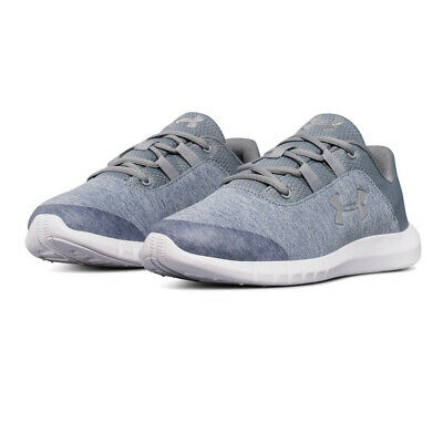 Under Armour Junior Mojo GS Running Shoes Trainers Sneakers Grey Sports