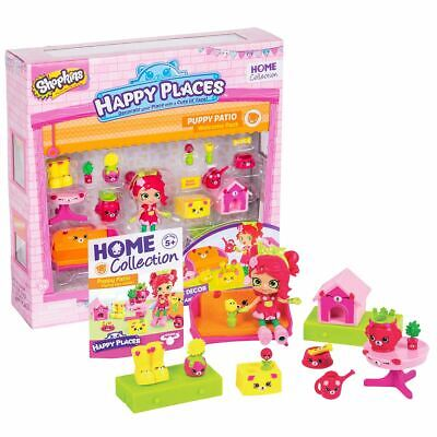New Shopkins Puppy Patio Welcome Pack & Rosie Bloom Happy Places Official