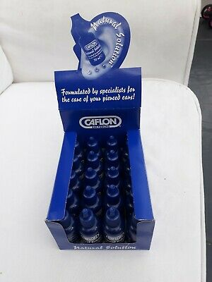 Caflon Ear Care Solution for After Piercing x20 Bottles (Full Box) SAMEDAY DISPA
