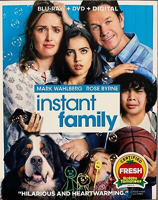 Instant Family (Blu-Ray + DVD + Digital) BRAND NEW w/Slipcover, FREE SHIPPING