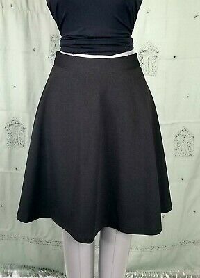 Skirts Beautiful Ladies Grazia Black Half Lined Full Length Skirt Size 14