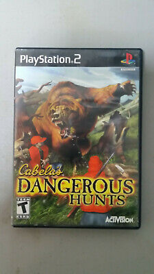 PlayStation 2 PS2 Cabela's Dangerous Hunts No Manual