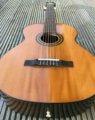 Vintage KAY KC333 German GDR Acoustic Guitar Parlor Blues Folk 6 String 60s 70s