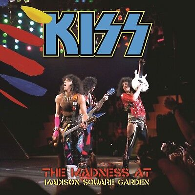 Kiss Rare Live 2 Cd New York Usa 1985 Limited Edition Incl.numbered Sticker