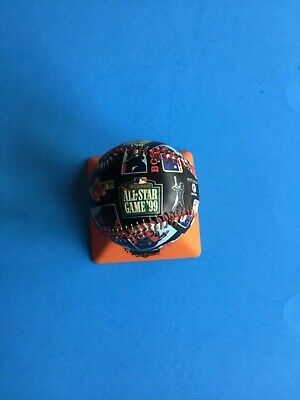1999 All-Star Game Boston Red Sox FOTOBALL w/acrylic case  (Nice)