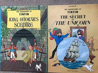 The Adventures Of Tintin By Herge The Secret Of The Unicorn King Ottokars 1975 6