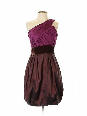 a6a2eedbf14 MAX AND CLEO Purple Cocktail Dress Size 4 Strapless -  17.87