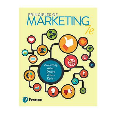 Principles of Marketing 7th Edition by Gary Armstrong Paperback Book Free Shippi