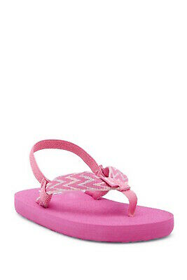 a693ea82e285 KIDS TEVA GIRLS Mush II Slip On T-Strap Flip Flops -  19.00