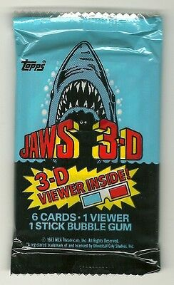 Jaws movie trading cards Shark Scheider Gary Amity