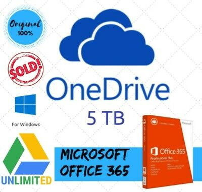 ⚡Unlimited Storage Google Drive On Existing Acc + 5Tb One D + 365 New Acc 🔥
