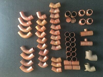 """1"""" Assorted Copper Fittings"""