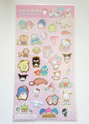 Sanrio Characters Stickers Hello Kitty My Melody Etc.. Brand New
