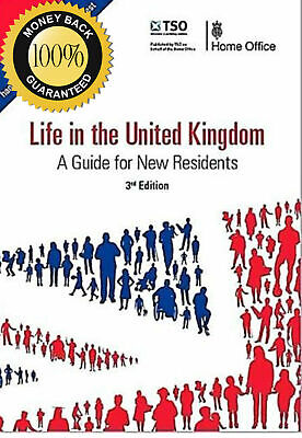 Life in the UK 3rd Edition, For 2019 - PDF + Audio MP3, Guidance, Practice, Tips