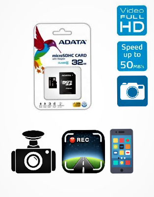 ADATA Micro SD 32GB SDHC Memory Card Mobile Phone Class 4 Without SD ADAPTER