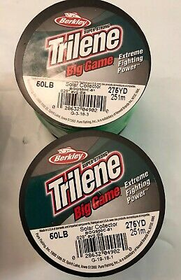 Fishing Line Berkley Big Game 50lb Test 3270yds Clear Monofilament