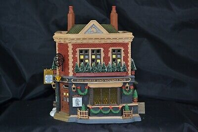 Dept 56 Dickens Village The Horse And Hounds Pub