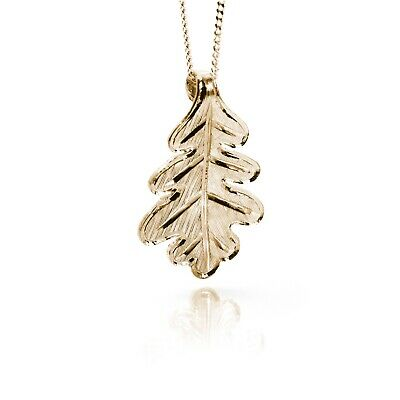 Irish Gold Pendant - Oak - Sacred Trees Collection by Soul Engraver