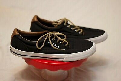 f0f232248260b6 TOMMY HILFIGER SHOES Deck Boat 90s style Flag Canvas Lace Sneaker ...